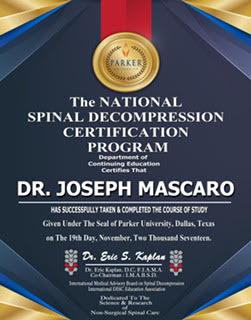 Chiropractic Groton CT Award